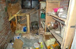 снимка Почистване на мазета и тавани