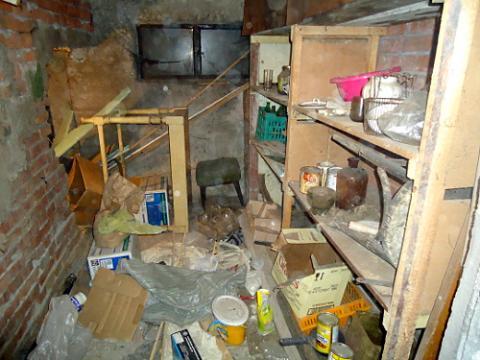 снимка чистена на тавани, мазета