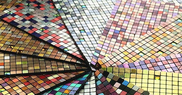 снимка на мозайки