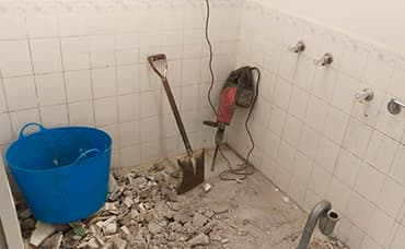 банер къртене на баня