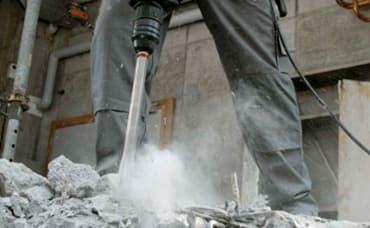 банер къртене на бетон
