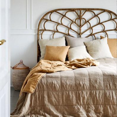 ратанова дъска за легло